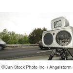 Speed camera - ©Can Stock Photo Inc. / Angelstorm