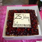 A cake from the Verein für Geschichte und Heimatkunde Oberursel