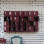 Small lockers for valuables