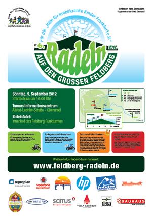 Radeln auf den Grossen Feldberg 2012 Flyer