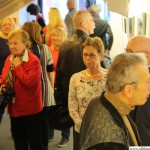 The opening of the exhibition (Vernissage)