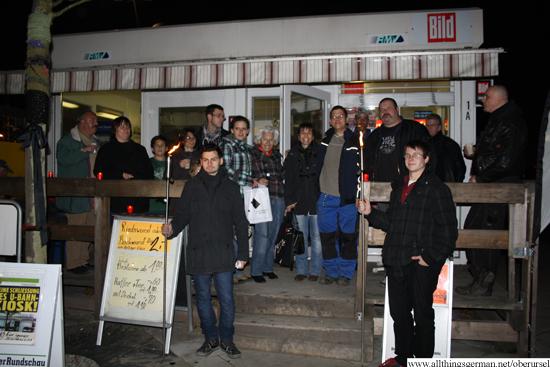 Candles for the Kiosk - 30th November, 2012