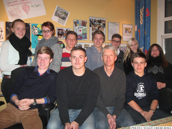 10th anniversary at the Jugendbuero in Oberursel (Photo: Stadt Oberursel)