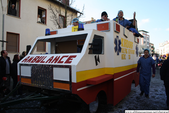 Kolpingfamilie Kirdorf - Kolping-Krankenwagen