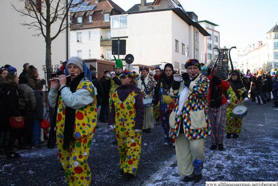 Spielmannszug Harmonie Bad Homburg e.V. in the Henchenstrasse