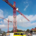 Oberursel Swimming Pool - The Building Site on 15th March 2013