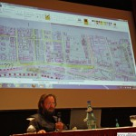 Bernd Peppler explaining the suggestions from the Stadtgespraeche