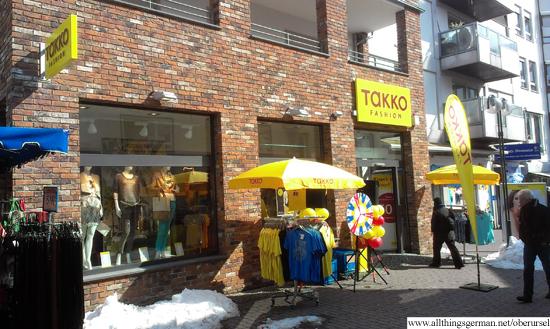 Takko Fashion in the Vorstadt