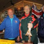 Bill Barron, Councillor Frank Rust and Councillor Alan Ferrier from Rushmoor