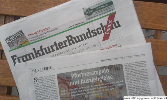 Frankfurter Rundschau - 17th August 2013