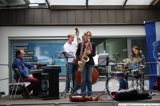 Jazz on the Mühlenwanderweg - Corinna Danzer & Friends at the Kürtellsmühle