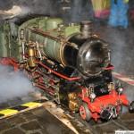 Miniature Steam Train on the Rathausplatz