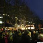 The Rathausplatz on Saturday evening