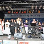The fountain festival church service