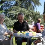 Honey Breakfast with Margarate Portefaix, Reinhart Stoll and Cecilia Bind