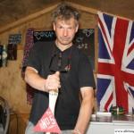 Hugh Shipman on the Rushmoor stand