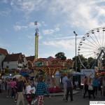 The fun fair on the Bleiche