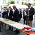 Cutting the cake - Hans-Georg Brum and Patrice Konieczny