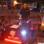 Seda Altingül and the Kita am Park car