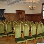 The Ratsherrensaal inside Oberursel's historic town hall