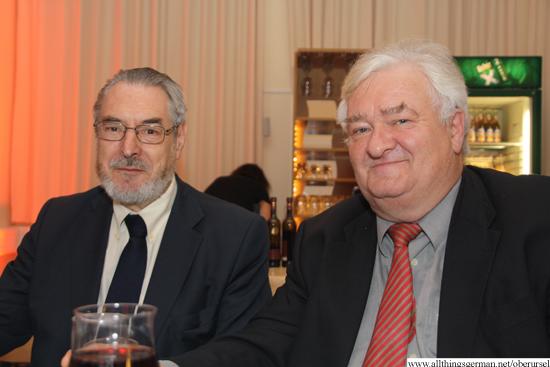 Hansjörg Schlegel and Dr.Franz Zenker