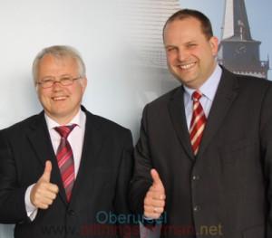 Hans-Georg Brum (left) and Thorsten Schorr (right)