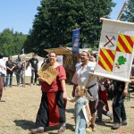 The procession at the Feyerey on Saturday, 1st August, 2015