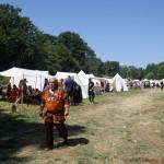 Tents at the Feyerey