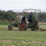 11-year-old Finn giving a ploughing demonstration