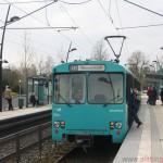 Nr. 378 behind nr. 385 in Oberursel station