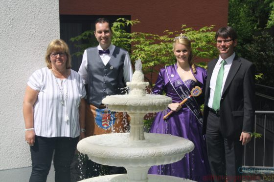 Ute Krostitz and Martin Barschke with the Fountain Pair