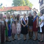 Visiting Royalty at the Brunnenfest on Friday, 9th June, 2017