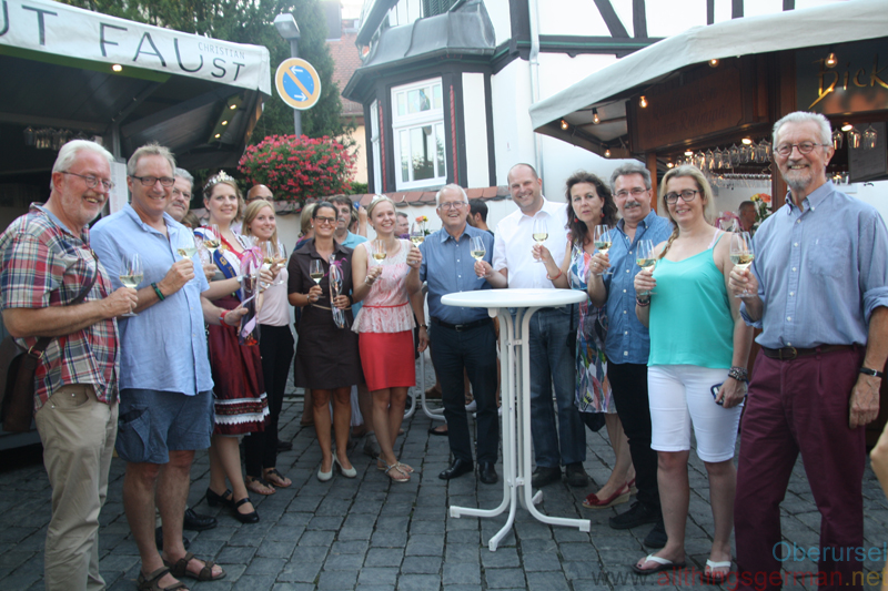 The 18th Rheingau Wine Fest Opening