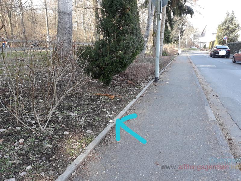 Grenzpunkt in the Neuhausstrasse