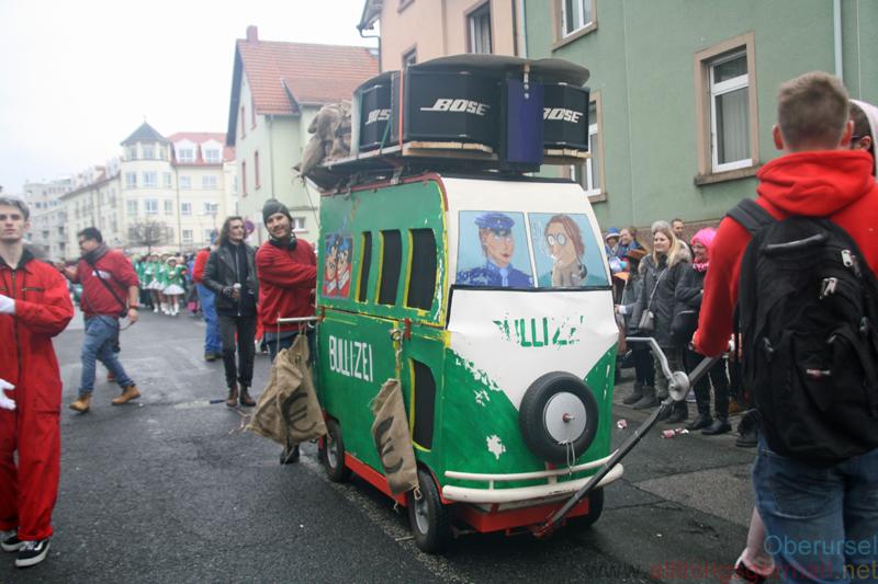 Kunstgriff Oberursel - Team Seifenkistenrennen - Taunus-Karnevalszug 2019