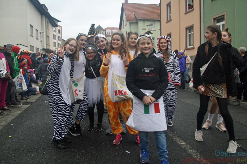 KKK Krifteler Karneval-Klub e.V. - Taunus-Karnevalszug 2019
