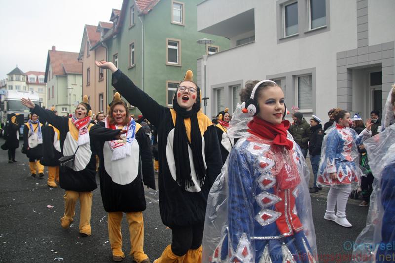 TCC Pinguine Schwalbach 1948 e.V. - Taunus-Karnevalszug 2019