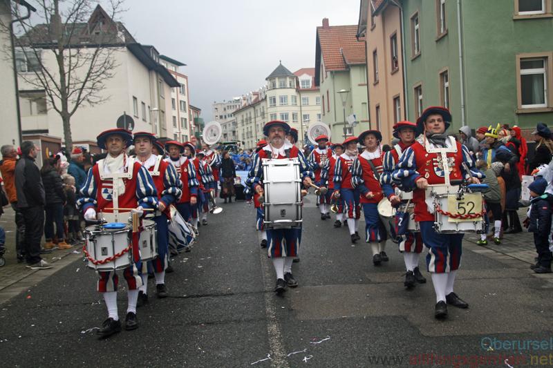 Fanfarenzug Kronberg 1970 e.V. - Taunus-Karnevalszug 2019