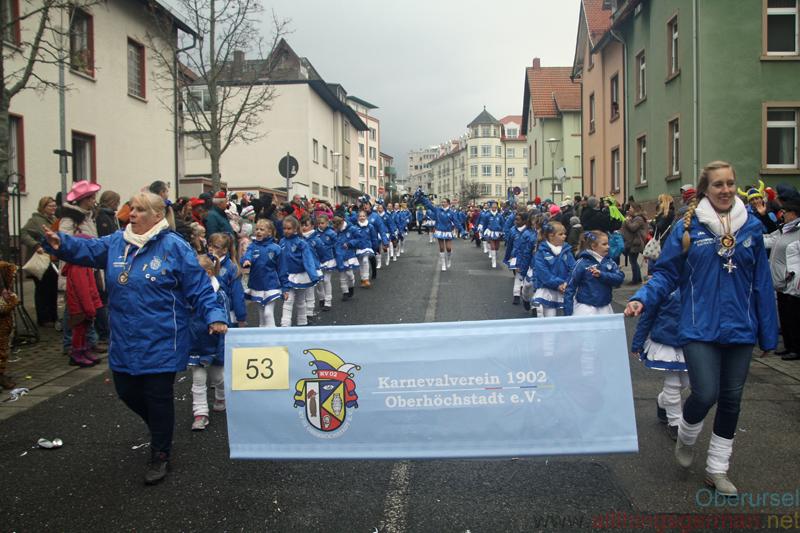 KV 02 Oberhöchstadt - Taunus-Karnevalszug 2019