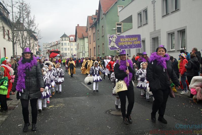 Tanzgarde Rodheim 1973 e.V. - Taunus-Karnevalszug 2019