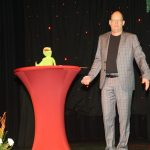 Thomas Poppitz with the history of the Brunnenfest
