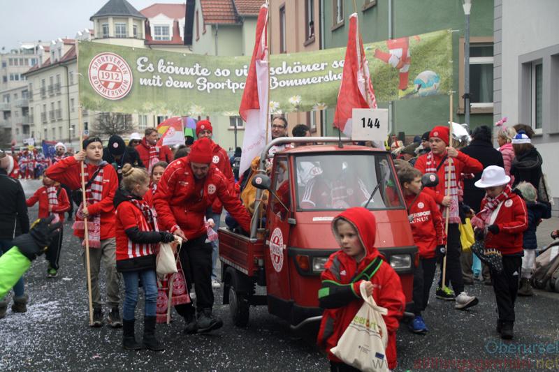 SV 1912 Bommersheim - Taunus-Karnevalszug