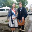Pia I. with Brunnenmeister Mathias during Autos in der Allee on Saturday, 27th April, 2019