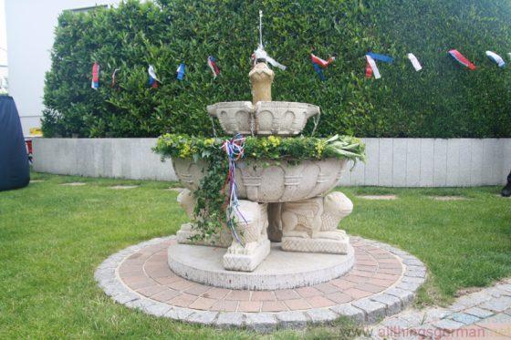 The Akazienbrunnen in Stierstadt
