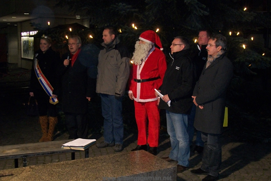 The official opening on Oberursel Christmas Market 2011