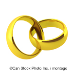 Golden Wedding Rings - ©Can Stock Photo Inc. / montego