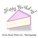Happy Birthday - ©Can Stock Photo Inc. / flamingolady