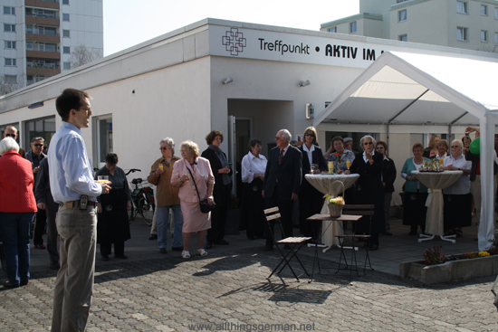 The Church Meeting Point in Oberursel celebrating its 5th anniversary