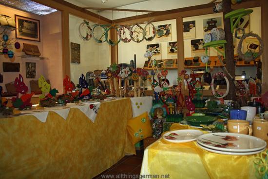Spring market at the Vordertaunusmuseum in Oberursel